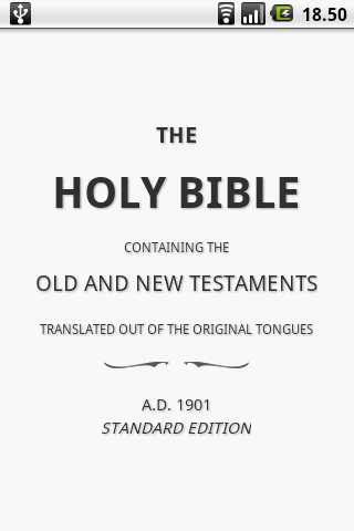 American Standard Version Bible, ASV screenshot