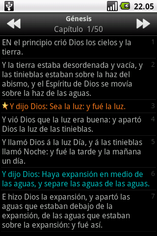 La Santa Biblia (The Holy Bible) screenshot